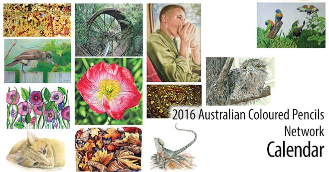 Call for entries for the 2017 ACPN – Coloured Pencil Artists Calendar
