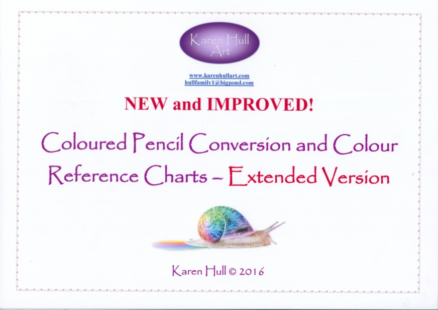 NEW: Coloured Pencil Conversion Charts – By Karen Hull